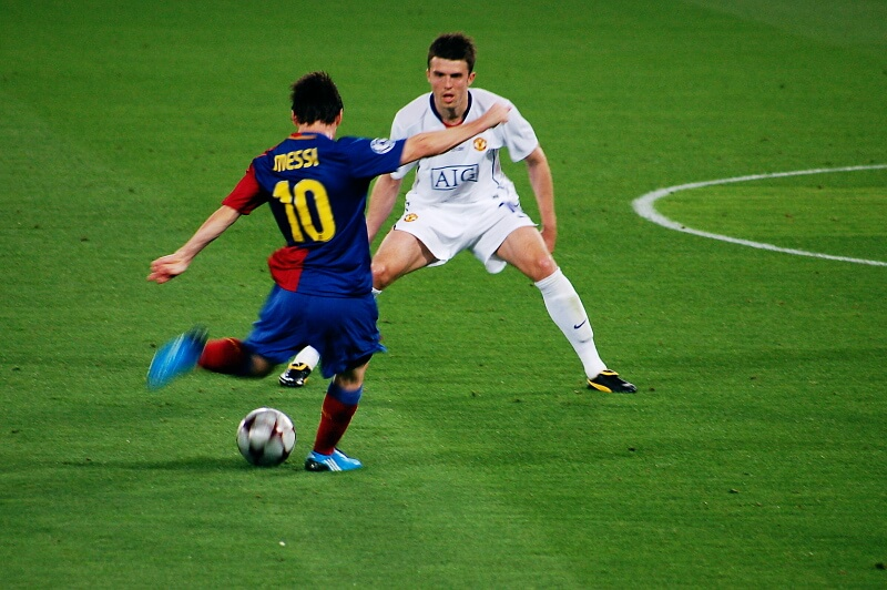 Messi adelgazó mucho tras su nueva dieta