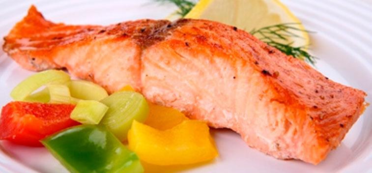 calorias salmon ahumado