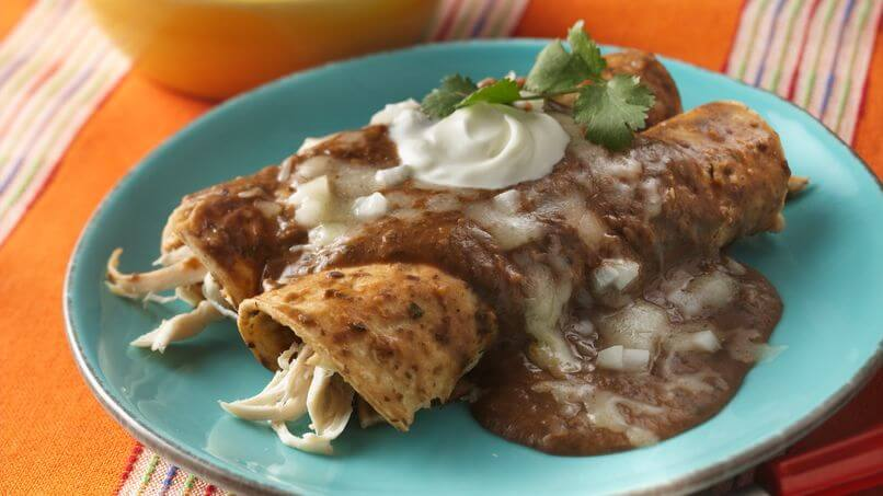 Cu ntas calor as tienen las enchiladas cuantas calorias for Tipos de encielados