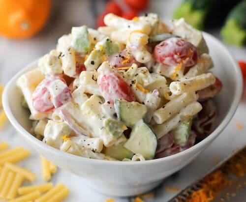 Cu ntas calor as tiene la ensalada de pasta cuantas calorias - Ensaladas con pocas calorias ...