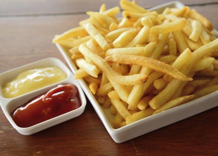 Cuántas calorías tienen las patatas fritas - Cuantas Calorias