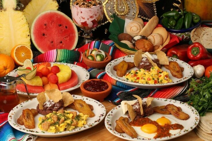 kcal desayuno comida cena