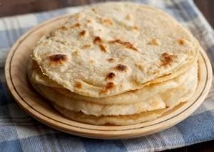 calorias Tortillas de harina