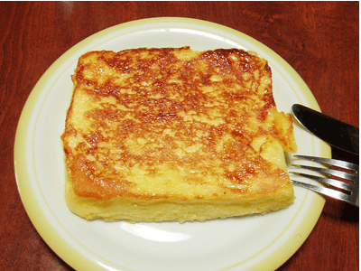 Calorias tostada de pan con aceite oliva