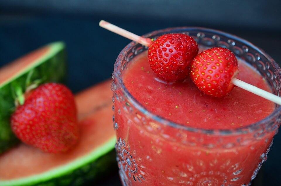 smoothie-fresas