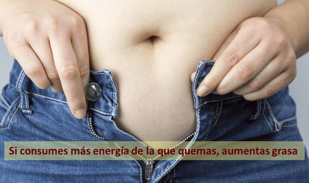 aumentar grasa