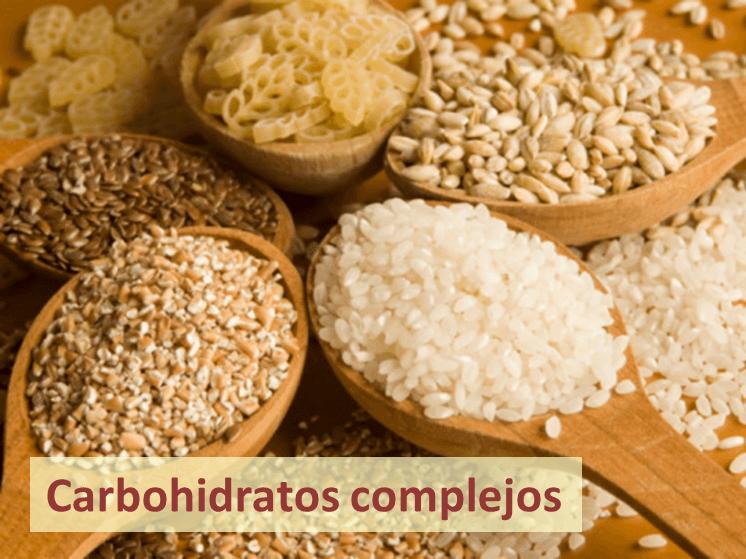 carbohidratos calorías