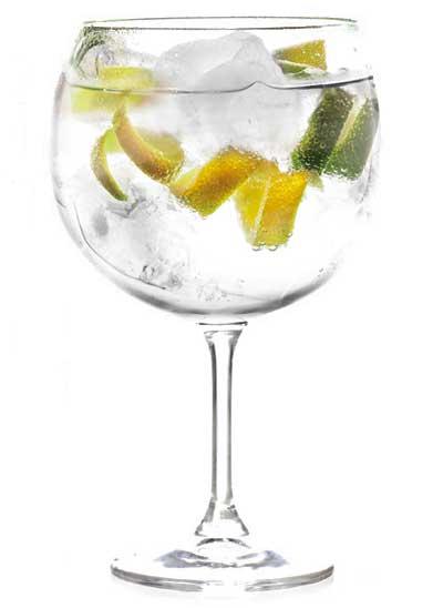 calorias en un gin tonic