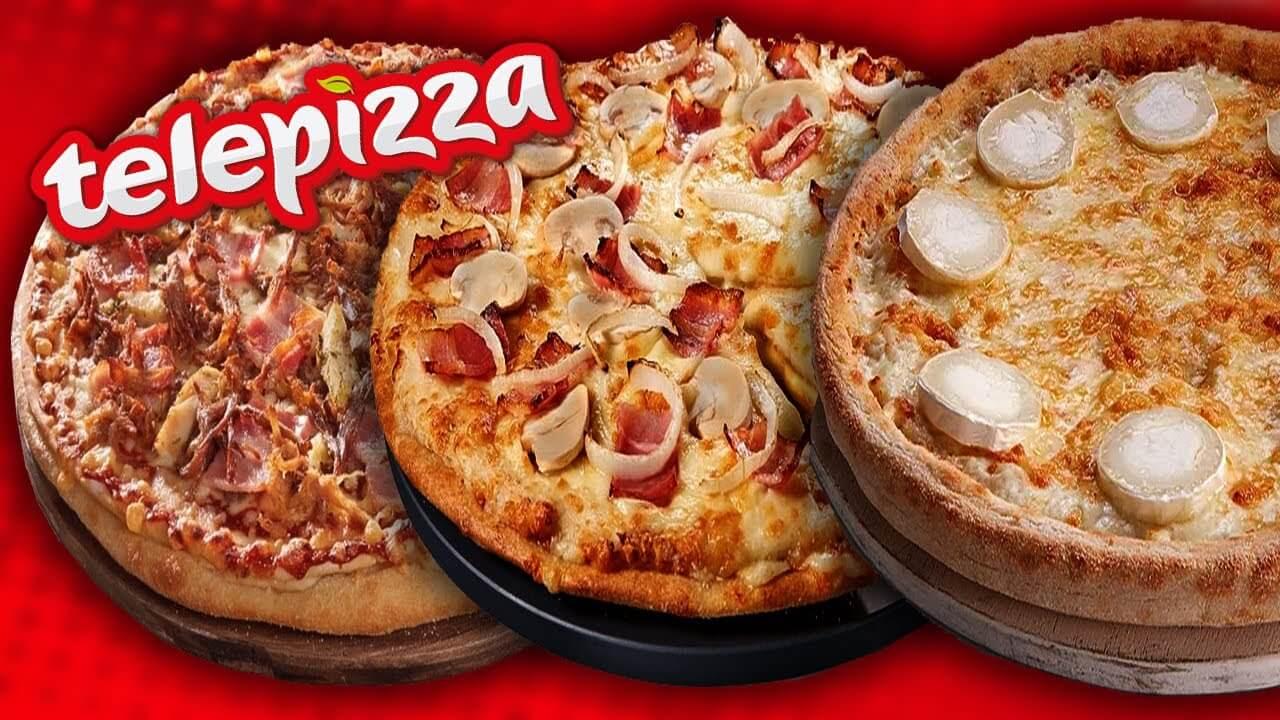 ¿Cuál es la pizza del Telepizza que menos engorda?