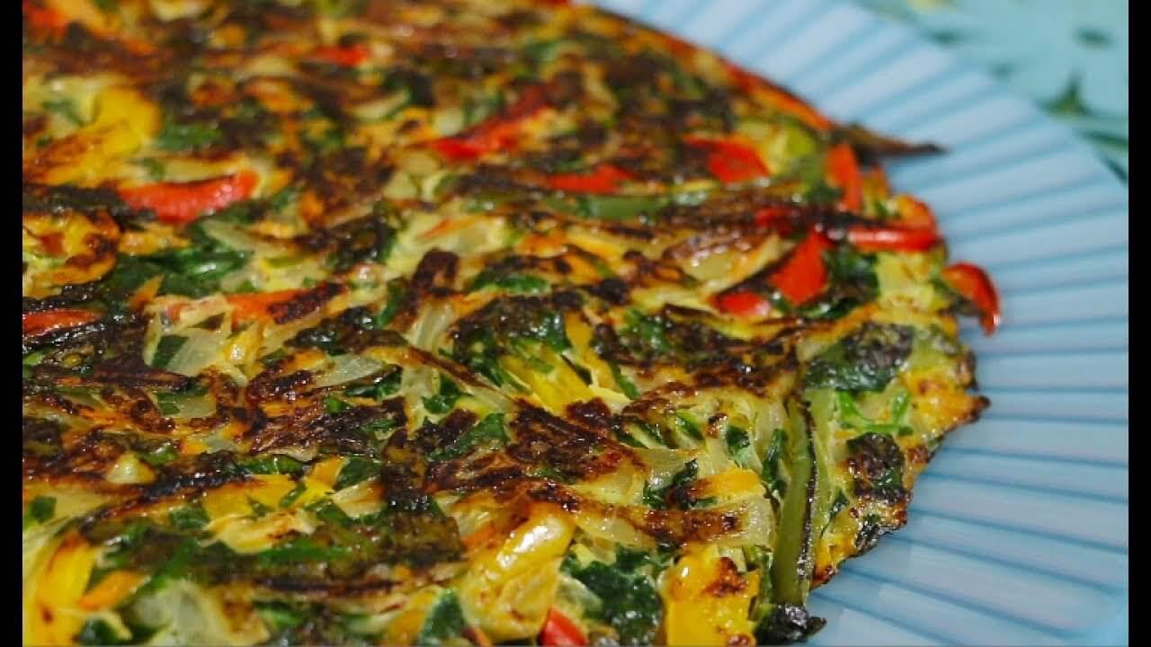 ¿Cuántas calorías tiene una tortilla de verduras?