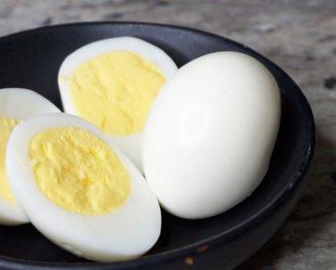 huevo duro cocido